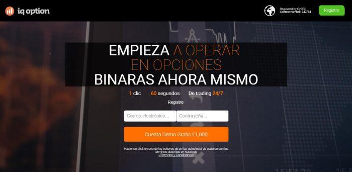 Opciones Binarias Demo